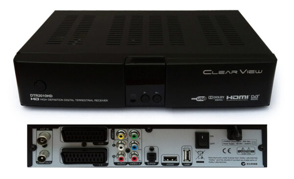 ClearView DTR2010HD Digital Terrestrial Mpeg4 Receiver-0