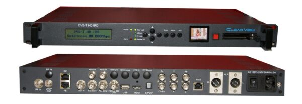 ClearView KR397X HD Professional DVBT IRD with LCD monitor-0