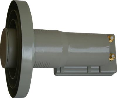 WaveCom C Band Dual Output Orthomode LNBF-0