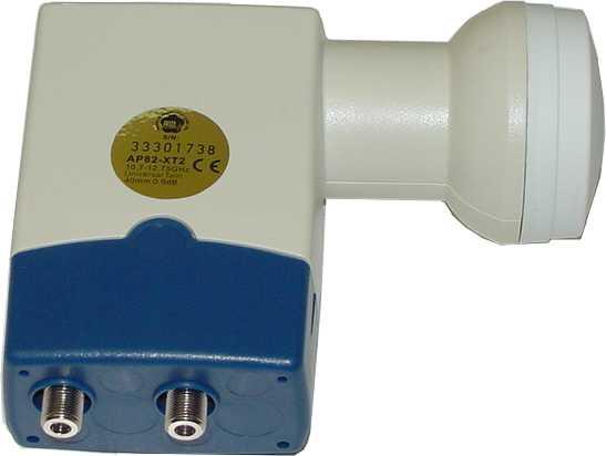 MTI Quattro Universal Offset KU LNBF-0
