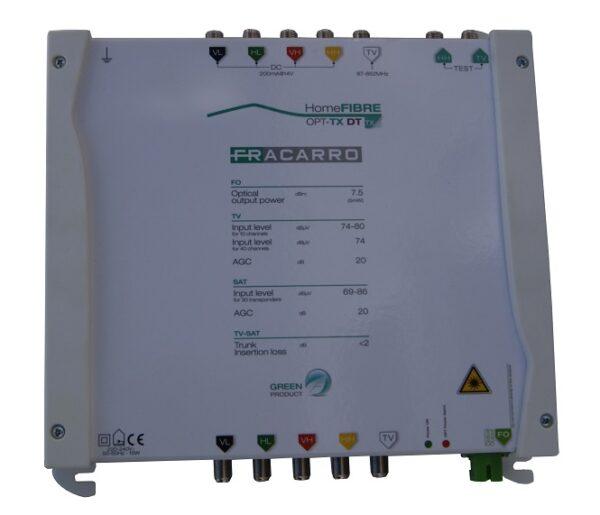 Fracarro Satellite & Terrestrial Fibre Transmitter-0