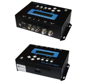 ClearView SD1010u SD DigitalModulator MPEG4 CVBS Input