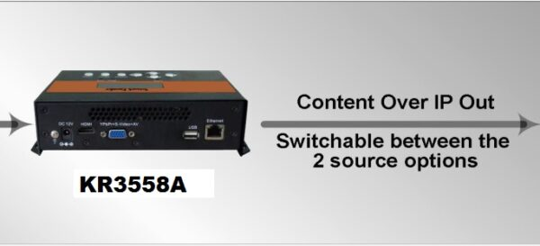 ClearView KR3558A Network Encoder-255