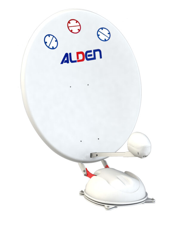 Alden AS4 85cm Very Fast Deploy Automatic Satellite Dish For Travelers-0