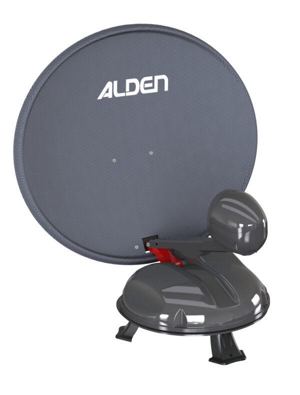 Alden Satlight 60cm Portable Automatic Dish System for Travelers-0