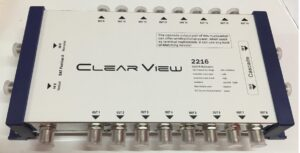ClearView 2216 16 Port Cascade Satellite Multiswitch