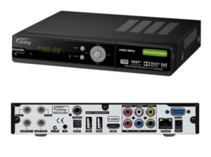 SatKing VAST receiver model DVBS2-980CA Twin Tuner with Freeview+