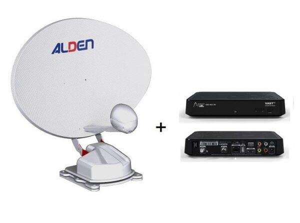 Alden Orbiter and UEC DSD4921RV as a package-0