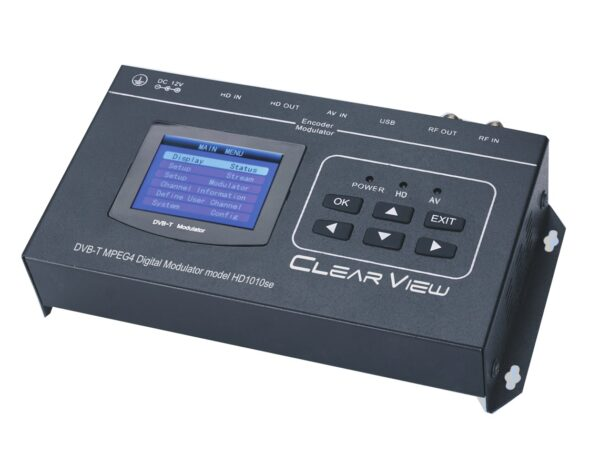 ClearView HD1010se HD MPEG4 Modulator with HDMI Loop Through and CVBS input-0