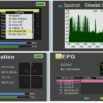 SF780G DVBS2 Satellite Meter with Constellation and Spectrum